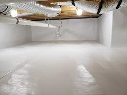 crawlspace after with water barriers